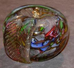 AVeM Tutti-Frutti or Bizantina Murano Glass Paperweight
