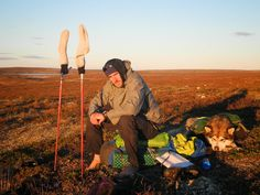Luces de atardecer en la tundra. Fotografía de José Mijares,