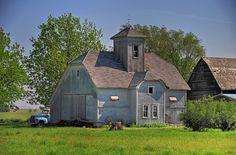 Unique Barn by jc-pics, via Flickr