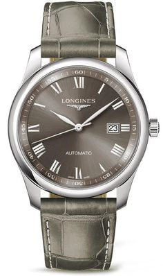 Longines Watch Master Collection Mens #add-content #bezel-fixed #bracelet-strap-alligator #brand-longines #case-material-steel #case-width-40mm #date-yes #delivery-timescale-call-us #dial-colour-grey #discount-code-allow #l27934713 #luxury #movement-automatic #new-product-yes #official-stockist-for-longines-watches #packaging-longines-watch-packaging #style-dress #subcat-master-collectionmale #supplier-model-no-l2-793-4-71-3 #warranty-longines-official-2-year-guarantee #water-resistant-30m