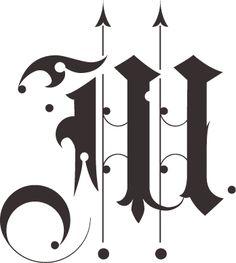 BLAQ font by Giuseppe Salerno, via Behance