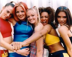 Spice Girls! Perfect for a girl group.