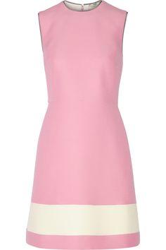 Fendi   Wool and silk-blend gazar mini dress   NET-A-PORTER.COM