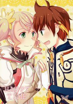 Tales of Zestiria Doujinshi - Happy Time (Sorey x Alisha)