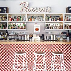 """""""Located in Chicago's Logan Square neighborhood, @ParsonsChi has an inviting, rel... 