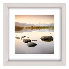 Buy Mike Shepherd - Elterwater Framed Print, 65 x 65cm Online at johnlewis.com