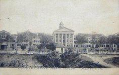 East Louisiana State Hospital - Postcard - Architecture