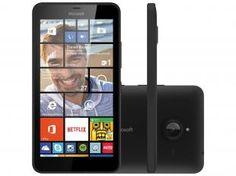 "Smartphone Microsoft Lumia 640 XL Dual Sim - Dual Chip 3G Câm. 13MP + Selfie 5MP Tela 5.7"""