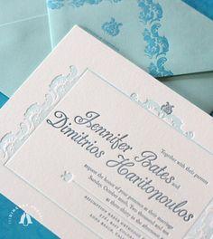 blue-letterpress-wedding-invitations
