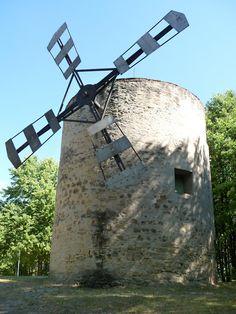 Jediný veterný mlyn na Slovensku. Holíč