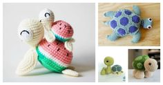The sweet crochet turtles will be the perfect friends for your kids. You can make them for your kids with these Crochet Turtle Amigurumi Free Patterns.