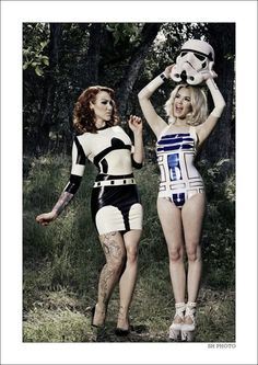 Fashionable star-wars