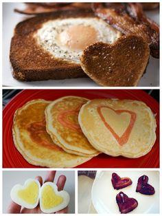 Valentine's Day Food Ideas... Breakfasts, Dinners, Desserts. :)