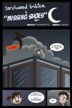 Torchwood Babiez cartoon ... didn't read it all the way through yet but it's pretty cute