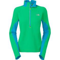 The North Face Women`s Momentum Thermal 1/2 Zip Fleece Jacket