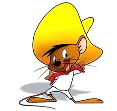 "Aug. 29, 1953. The cartoon character Speedy Gonzales makes its debut in the Warner Brothers cartoon ""Cattails for Two."""