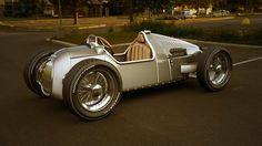 1936 Audi Type C Racing Car by BlackLizard1971