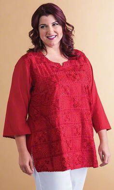 Granada Tunic/ MiB Plus Size Fashion for Women