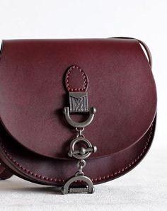 Handmade Leather vintage women leather shoulder bag crossbody bag