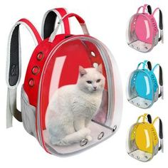 Comprar Breathable Pet Cat Carrier Bag Transparent Space Pets Backpack Capsule Bag for Cats Puppy Astronaut Travel Carry Handbag Outdoor em Wish - Comprar ficou mais divertido Pet Carrier Bag, Indoor Pets, Cat Bag, Small Cat, Small Dogs, Pet Travel, Wish Shopping, Cat Toys, Backpack Bags