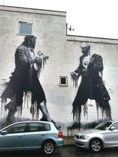 Street Art in London by Conor Harrington