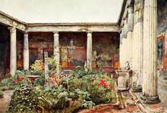 Resultado de imagen de italian courtyard garden