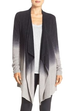 Can't get over how amazing this ultrasoft cardigan is by Barefoot Dreams. It's draped silhouette makes it easy to go from idle hours to afternoons out.