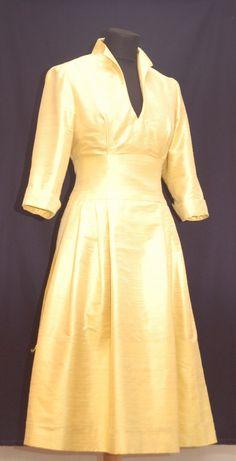 Brautkleid,Standesamtkleid, Seidenkleid, Brautmutterkleid, mother of bride Dresses With Sleeves, Long Sleeve, Fashion, Bridal Gown, Curve Dresses, Moda, Full Sleeves, La Mode, Gowns With Sleeves