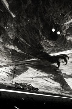 Stunning Black & White Art by Nicolas Delort | From up North