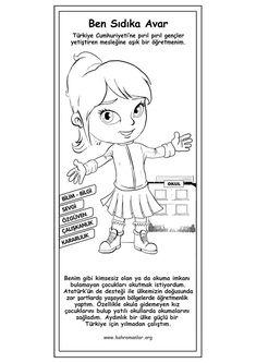 Sıdıka Coloring Pages, Alphabet, Science, Comics, Mart, Gun, Quote Coloring Pages, Alpha Bet, Firearms