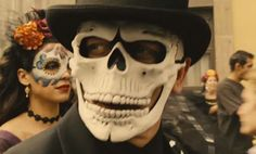 james bond day of the dead background pix - Google Search