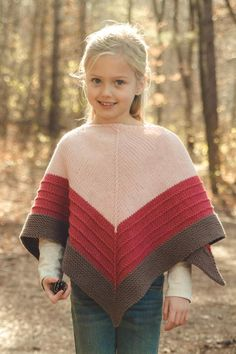 crochet poncho kids Knitting Patterns Free Poncho Kids Little Girls 23 Ideas Toddler Poncho, Girls Poncho, Poncho Knitting Patterns, Knit Patterns, Kids Poncho Pattern, Knitting For Kids, Baby Knitting, Free Knitting, Knitting Projects