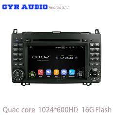 Android 5.1 Автомобиль DVD GPS для Mercedes-Benz viano sprinter A class w169, B class w245, w639, w906, vito с Quad Core 3 Г Wi-Fi