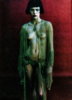 Magazine: French PhotoYear: 1997Models: Milla JovovichPhotographer: Mario Sorrenti