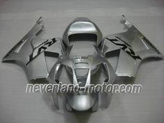 Carenado de ABS de Honda VTR1000 RC51 2000-2006 - Plateado