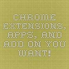 Chrome Extensions, Apps and Add-Ons Extension Google, Chrome Apps, Chrome Extensions, Google Chrome, Ads, Math Equations