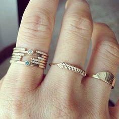 Jeweled rings