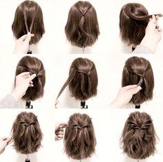 10 Tutorirales muy sencillos para peinar tu cabello corto