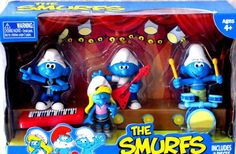 The Smurfs in a band, cool. :-)