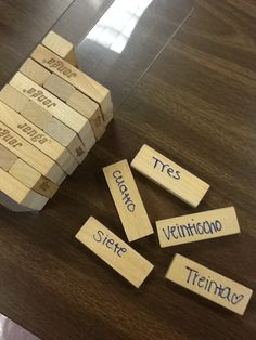 Idea #94: JENGA or UNO? Group Speaking Games to Review