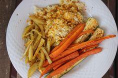 #Goldhirse #Ofengemüse #gemüse #gold #hirse #braten #bratgemüse #grillgemüse #karotten #zucchini #pommes #kartoffeln