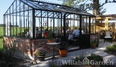 Willab garden greenhouse for party