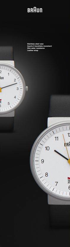 Braun watch | Photography on Behance