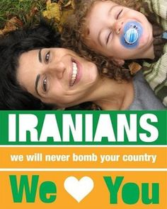 An Israeli couple's peace message to Iran has taken off on Facebook.