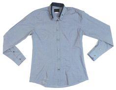 David Mayer Naman Men's Long Sleeve Casual Shirt Made in Italy Size | eBay