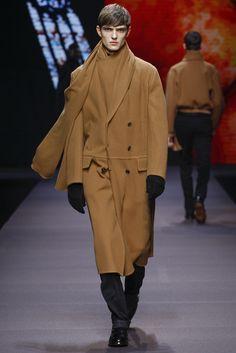 Ermenegildo Zegna Fall-Winter 2014, Milan Fashion Week