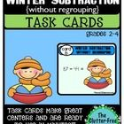 This packet contains word problem task cards with a Winter-Theme to practice subtraction without regrouping. These are so quick and easy to put together and make a high-quality, purposeful center. They were created in color, but look great when printed in greyscale to save ink.