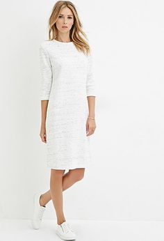 Space-Dyed Sweater Dress | LOVE21 - 2000158122 fall fashion, forever 21, what to wear, blogger style, everyday stilettos