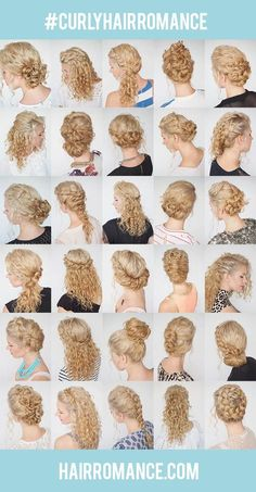 The 30 Days of Curly Hairstyles ebook is here! – Hair Romance – Debi Francis The 30 Days of Curly Hairstyles ebook is here! – Hair Romance cool The 30 Days of Curly Hairstyles ebook is here! – Hair Romance by www. Curly Hair Tips, Curly Hair Care, Curly Updos For Medium Hair, Wavy Hair, Hair Romance Curly, Curly Blonde, Curly Hair Braid Styles, Braids For Curly Hair, Natural Curly Hair Updos