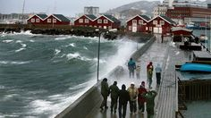 The weather in Northern Norway, not as cld as you think.